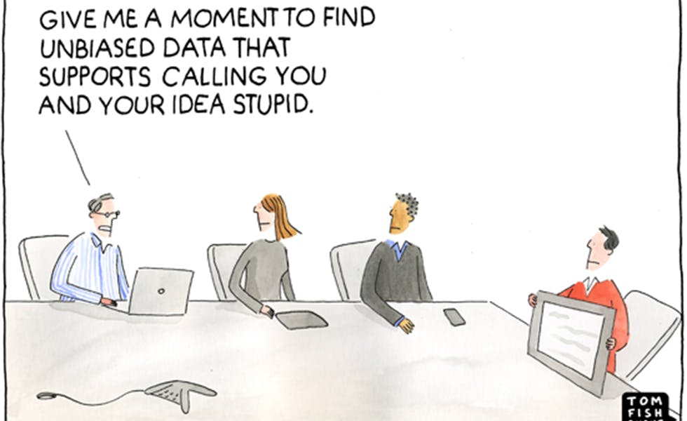 Unbiased Data, The Marketoonist