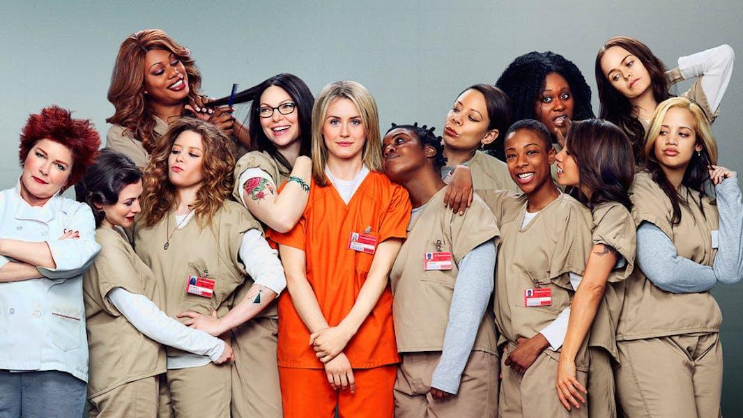 Netflix's hit show Orange is the new Black