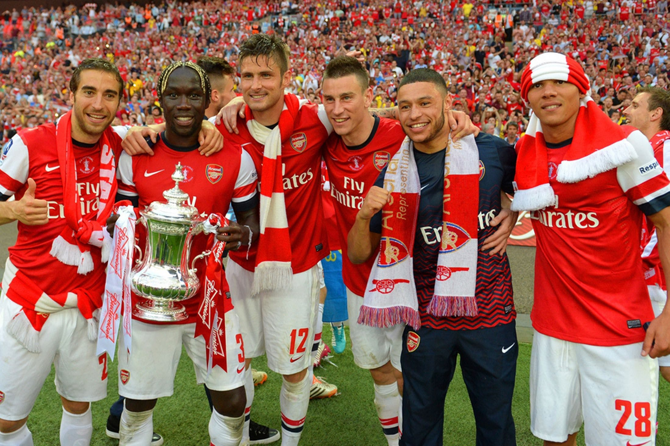 Arsenal are the current holders of the trophy, which looks set to be rebranded to the 'Emirates FA Cup'