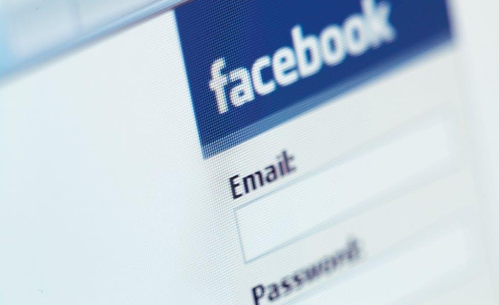 Facebook logins