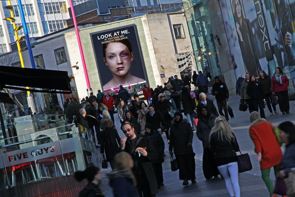 The billboard campaign won the Interactive Award in Ocean's annual Art of Outdoor competition last year.