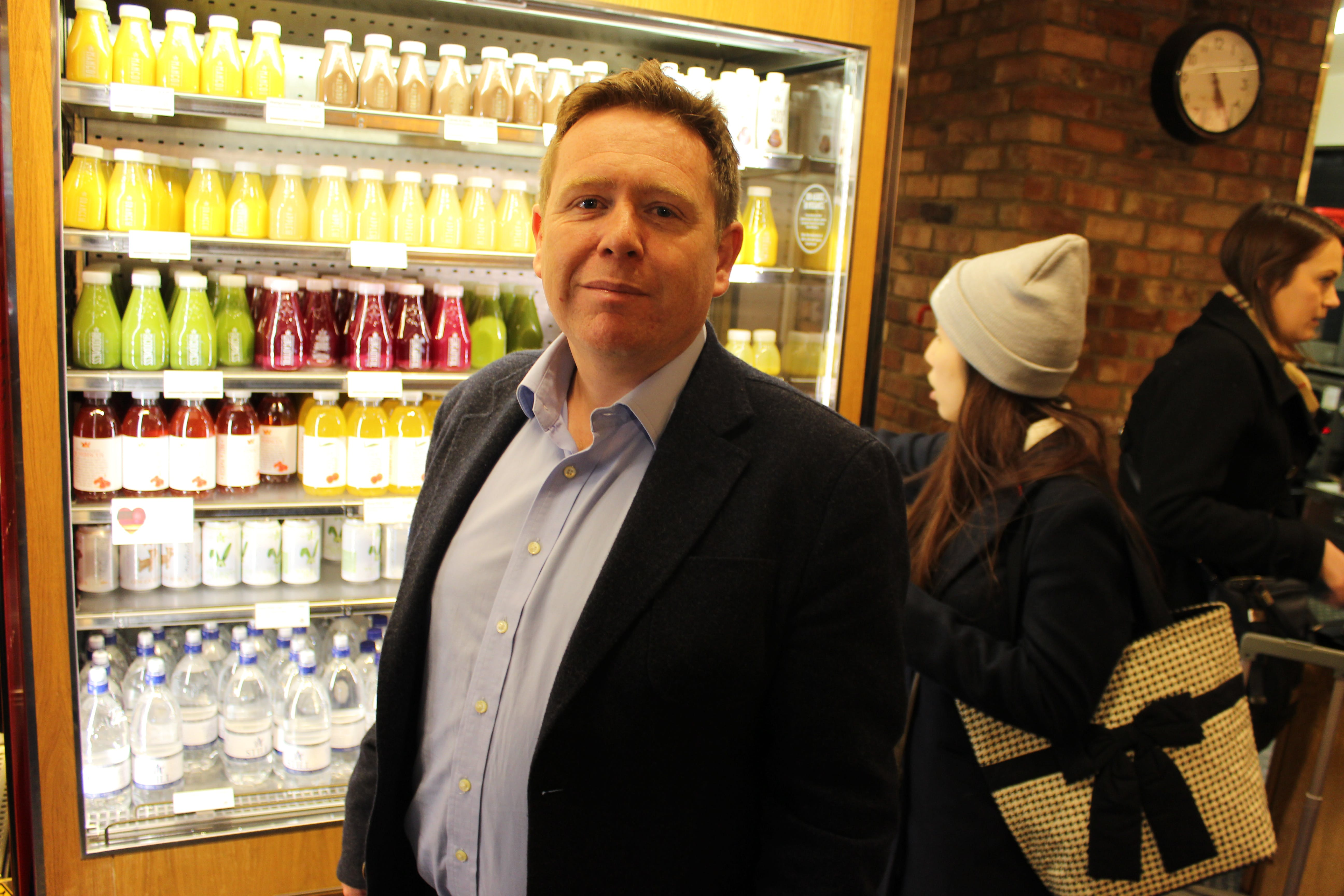 Pret's marketing director Mark Palmer sats it expects it to open over 30 new shops this year