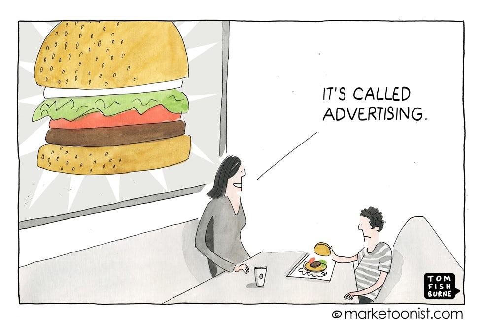 Marketoonist It's Called Advertising 22 4 15