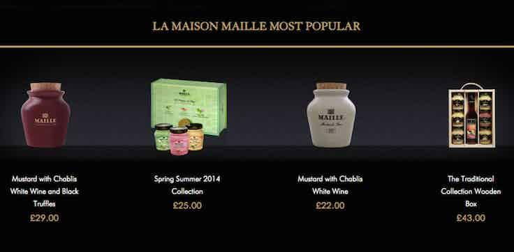 Maille Mustard - Unilever E-commerce