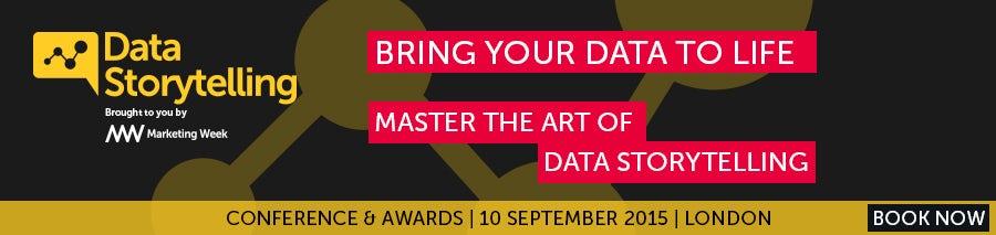 Data Storytelling Awards banner