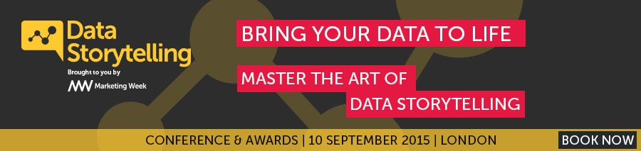 Data Storytelling Awards banner