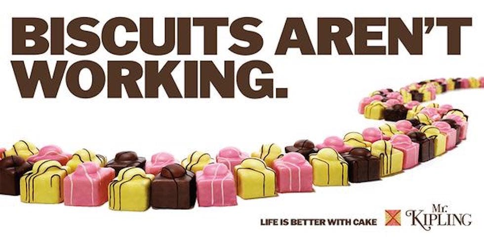 mr kipling election ad