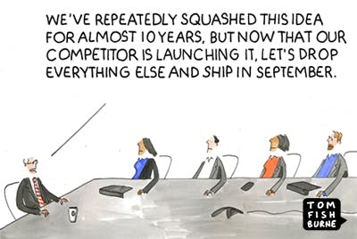 Competitor pressure