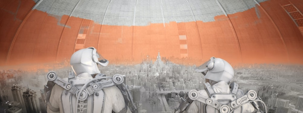 A still from Dulux's 'colourless future' campaign from earlier this year