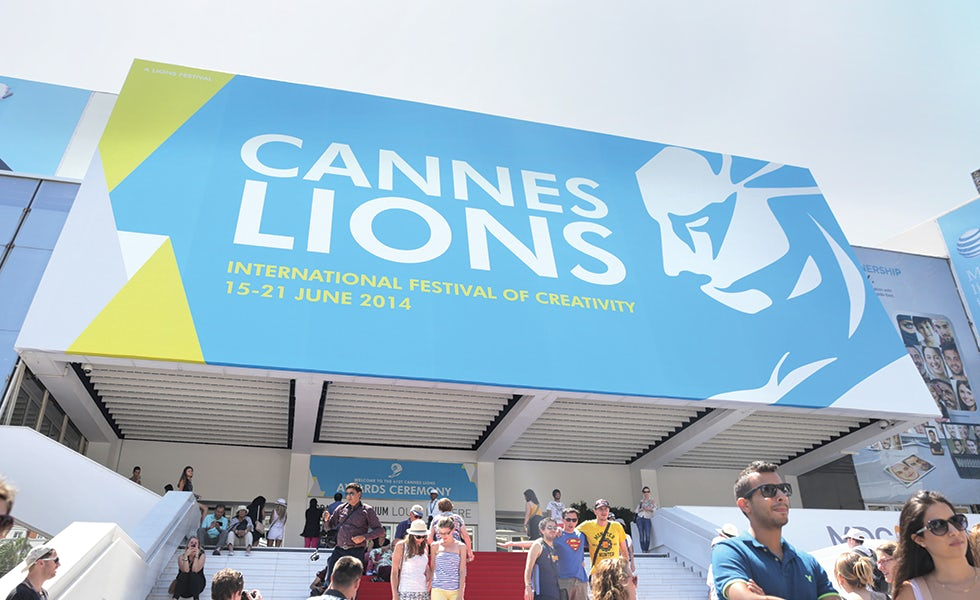 Cannes Lions festival entrance