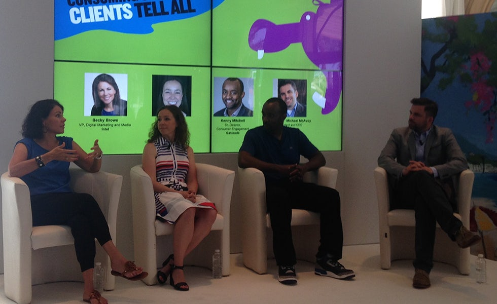 The Onion panel at Cannes Lions 2015