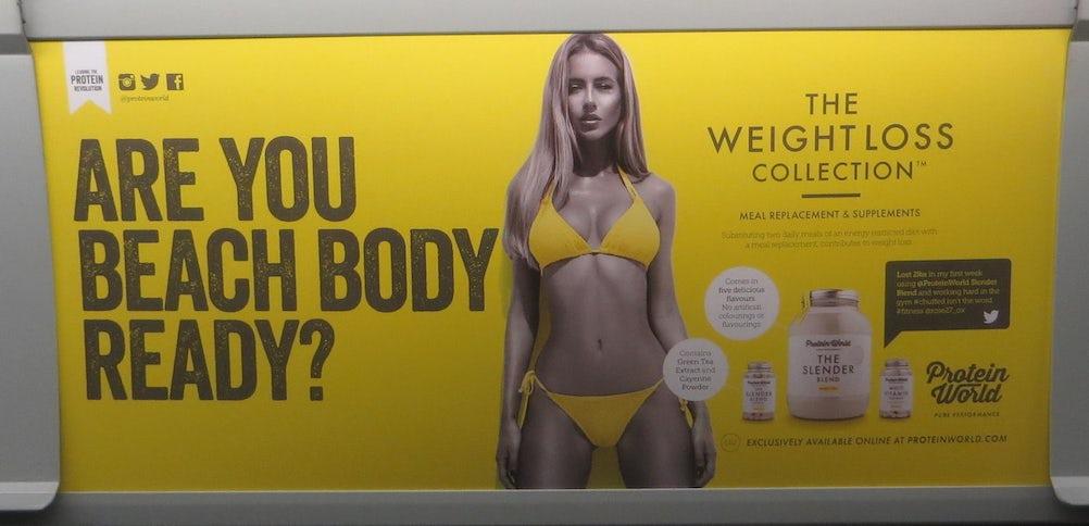 Protein World ad