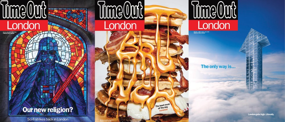 Time Out magazine covers