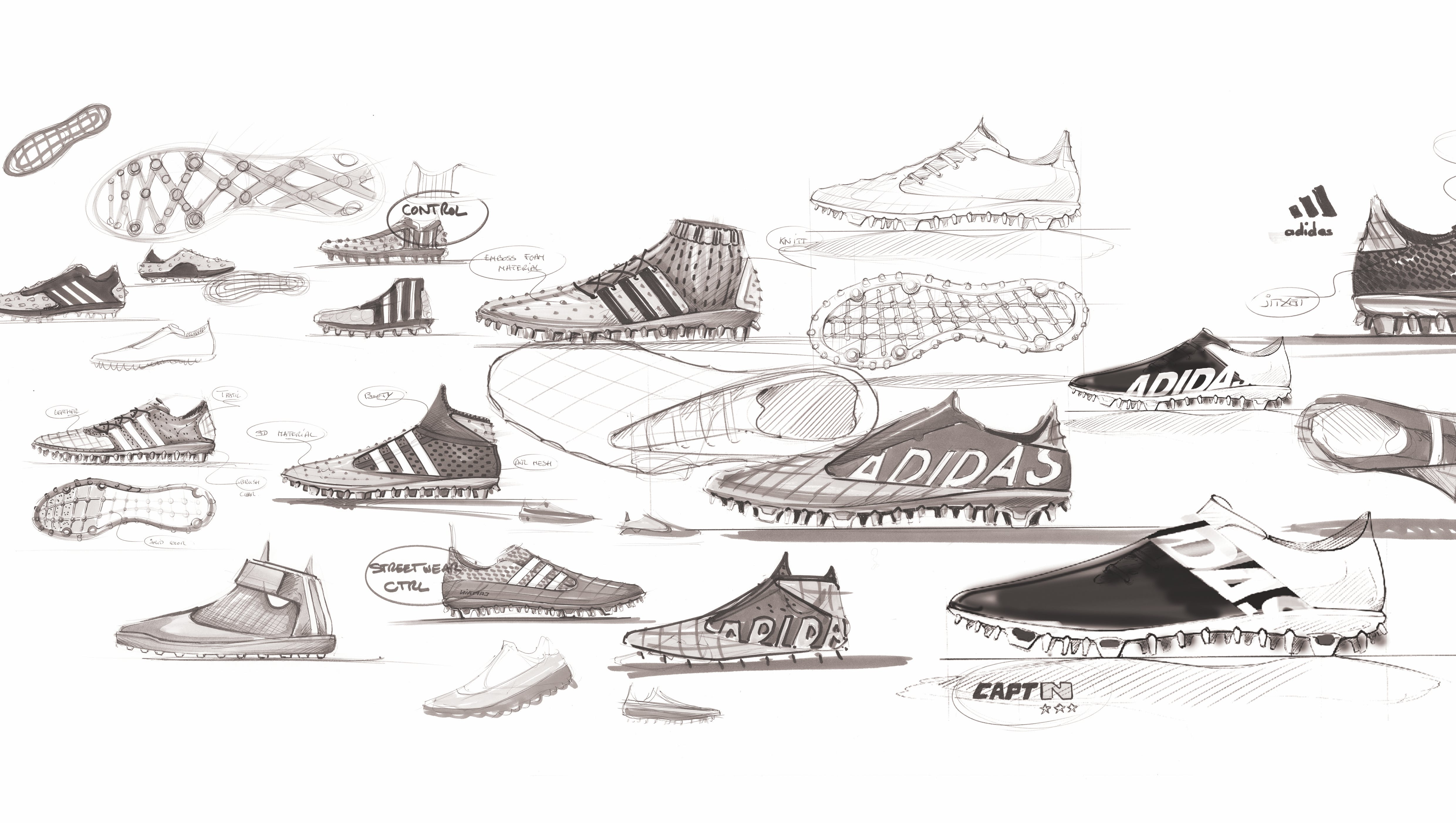 d0efeb2682685 Adidas to create  influencer network  as it aims to become top football  brand