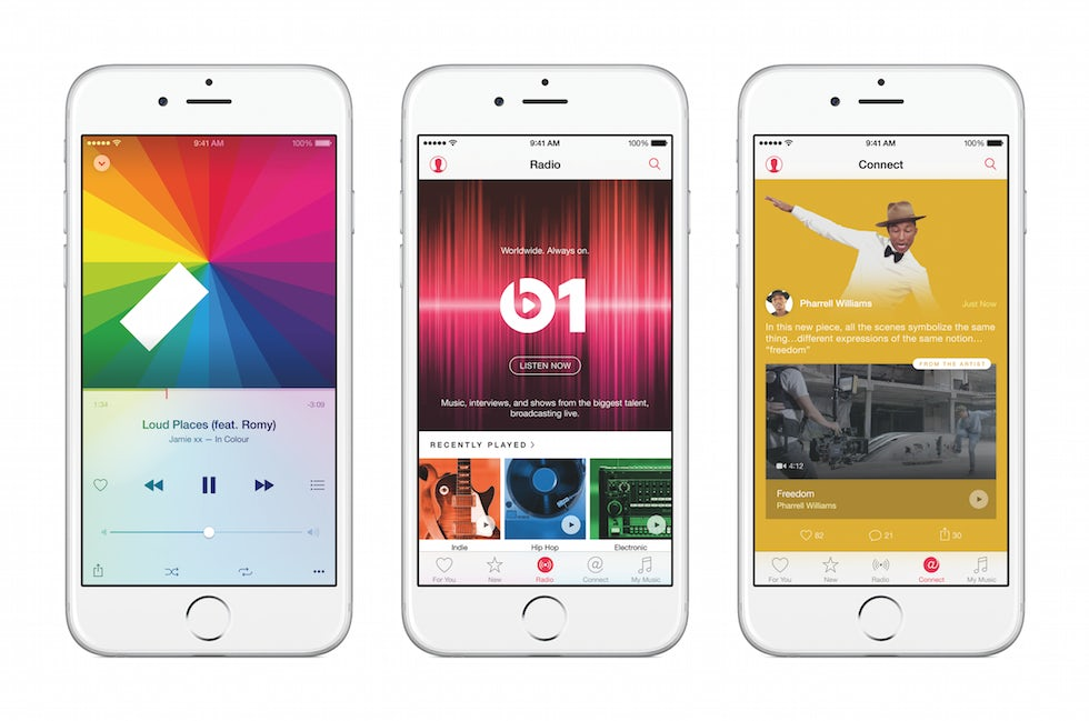 Apple's new music service gives it another direction relationship with customers