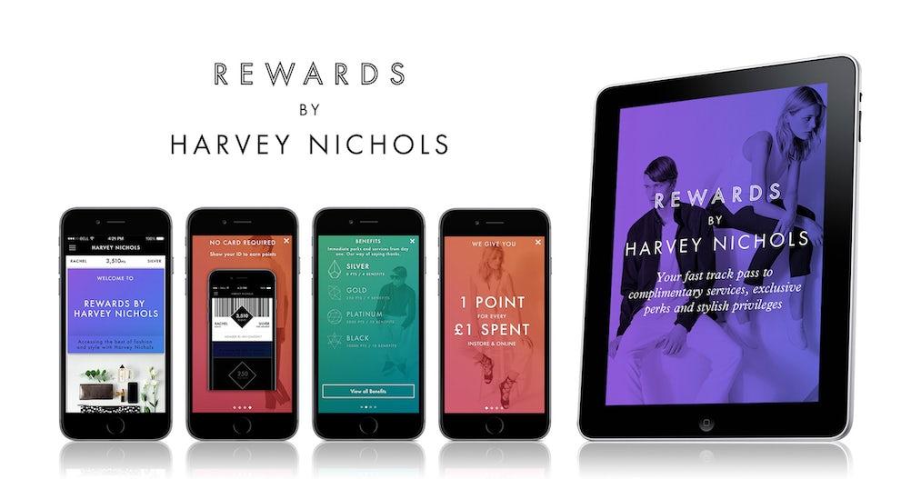 harvey nichols rewards