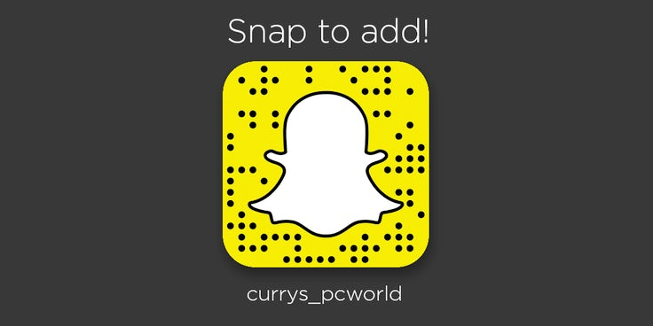 Currys PC World: Snapchat allows us to do more than just add noise