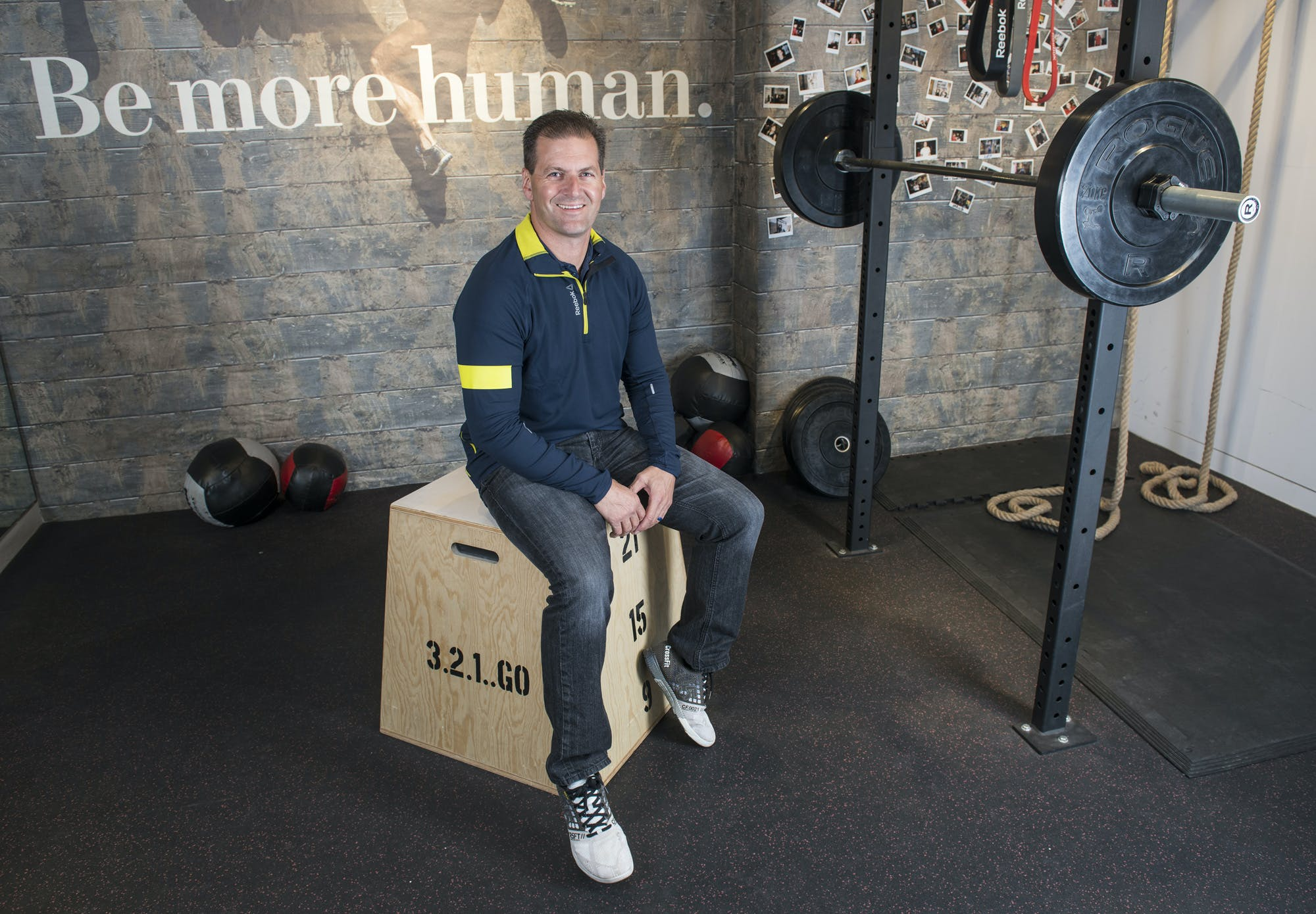 Reebok in  relaunch phase  as it looks to become top fitness brand ... 470852059
