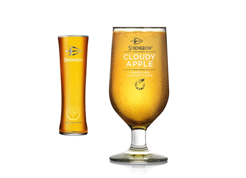 GLASS_ CLOUDY CIDER