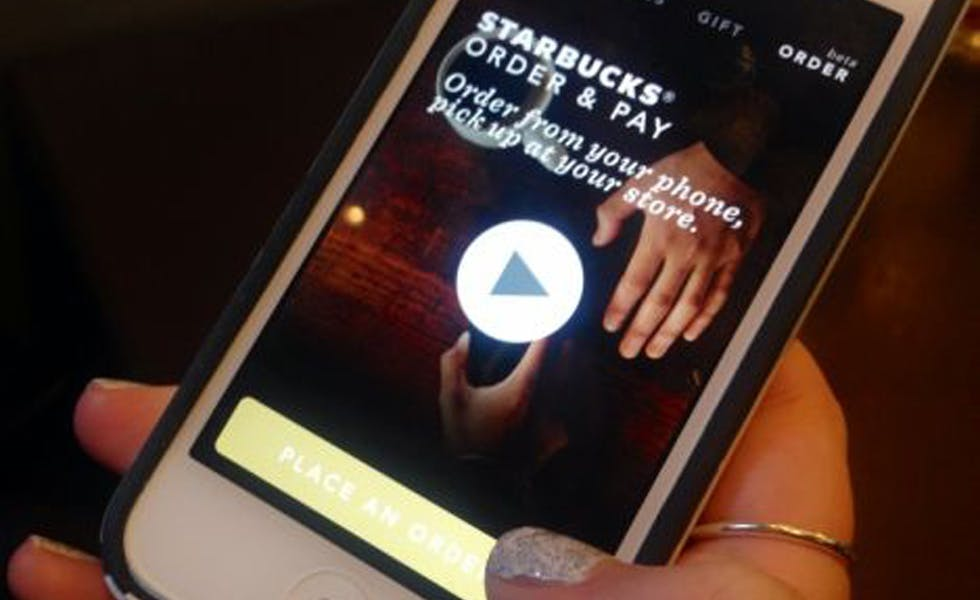 Starbucks mobile pay