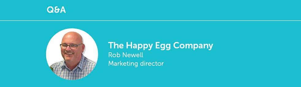 Rob Newell, Happy Egg Company