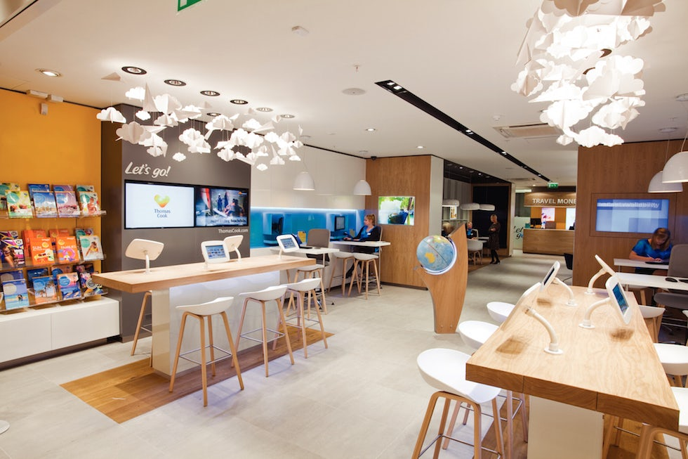 Thomas Cook's new store in Lakeside