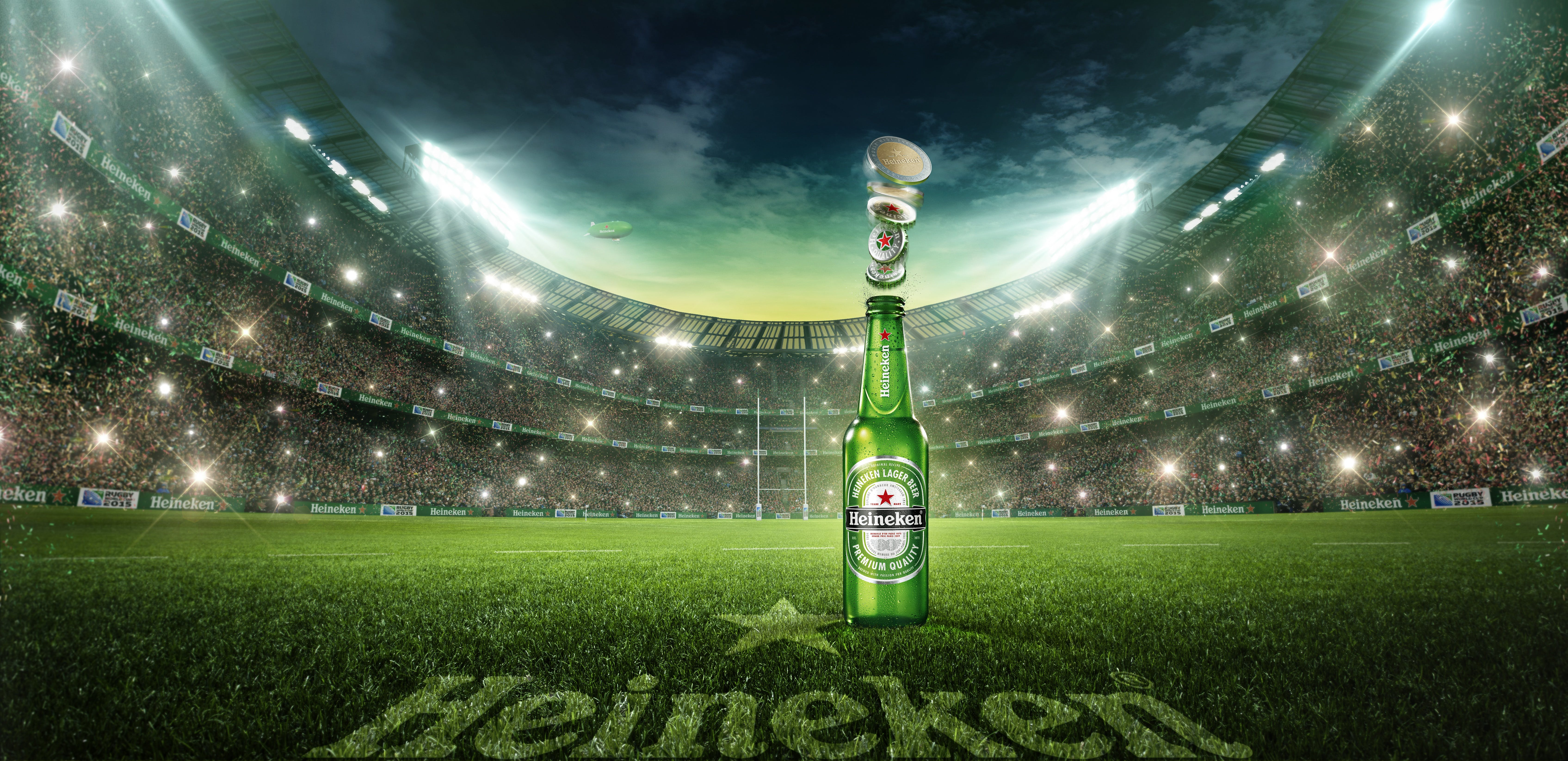 Heineken to push 50% of marketing budget into Rugby World Cup ...