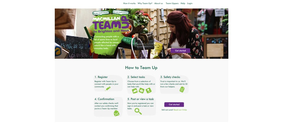 Macmillan website small