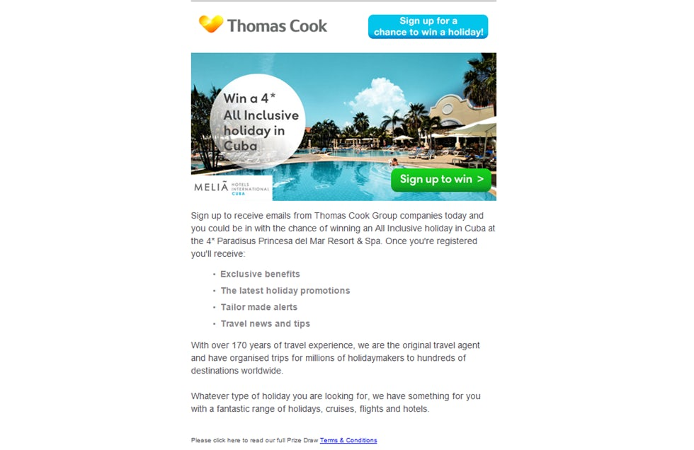 Thomas Cook mobile site small