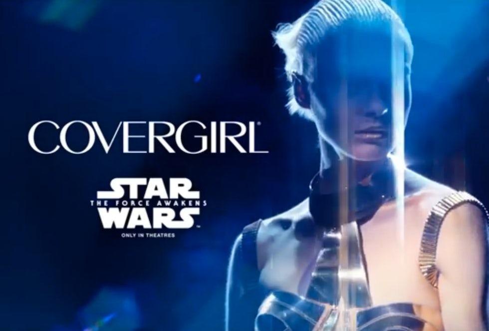 cover girl star wars