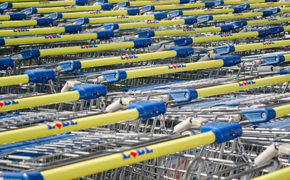 lidl trolleys