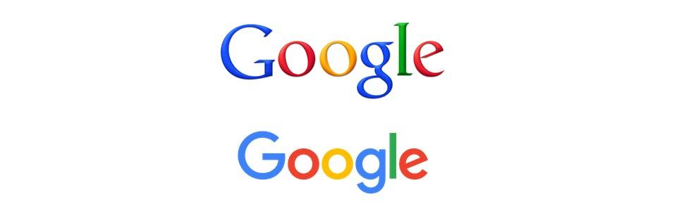 Google logo changes