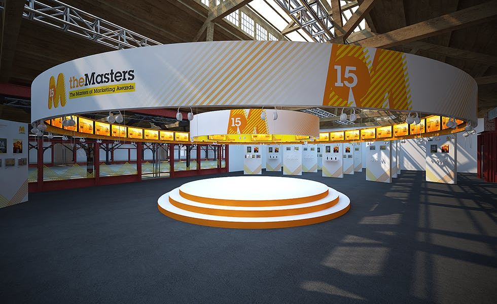 The Masters of Marketing will have their own dedicated space at the Festival of Marketing conference