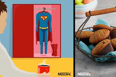 Nescafe card