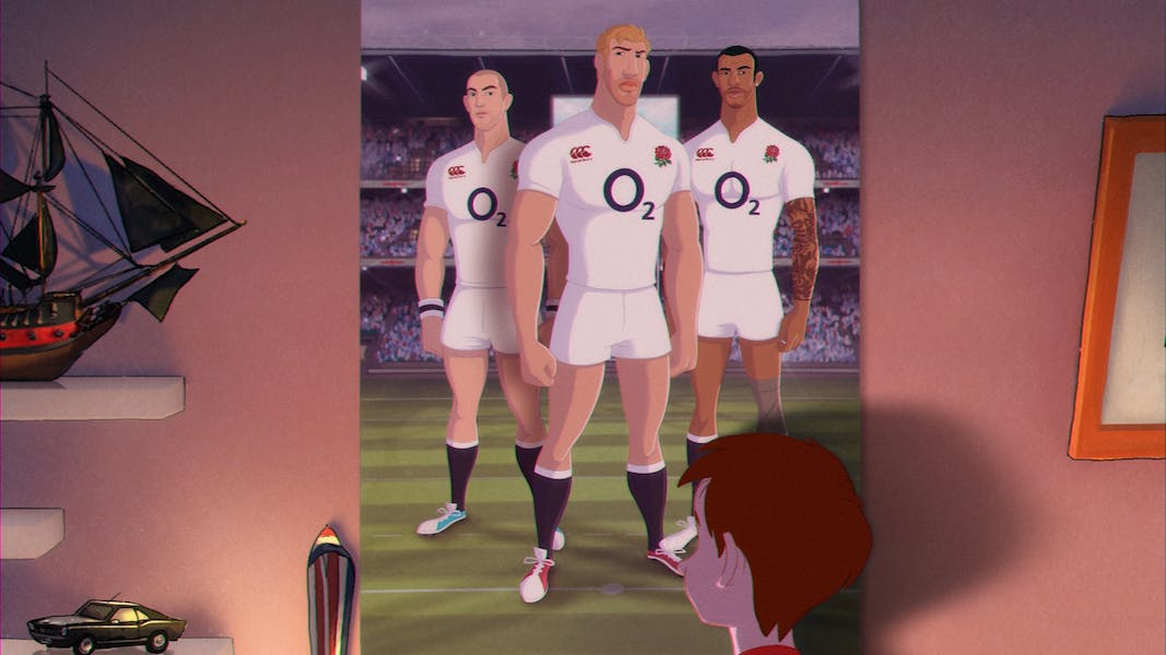 O2 rugby ad