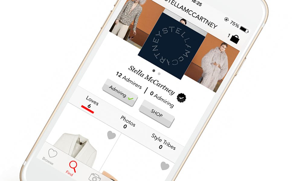 Stella McCartney app