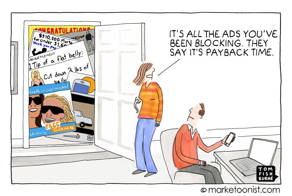 Ad blocking Marketoonist 21 10 15