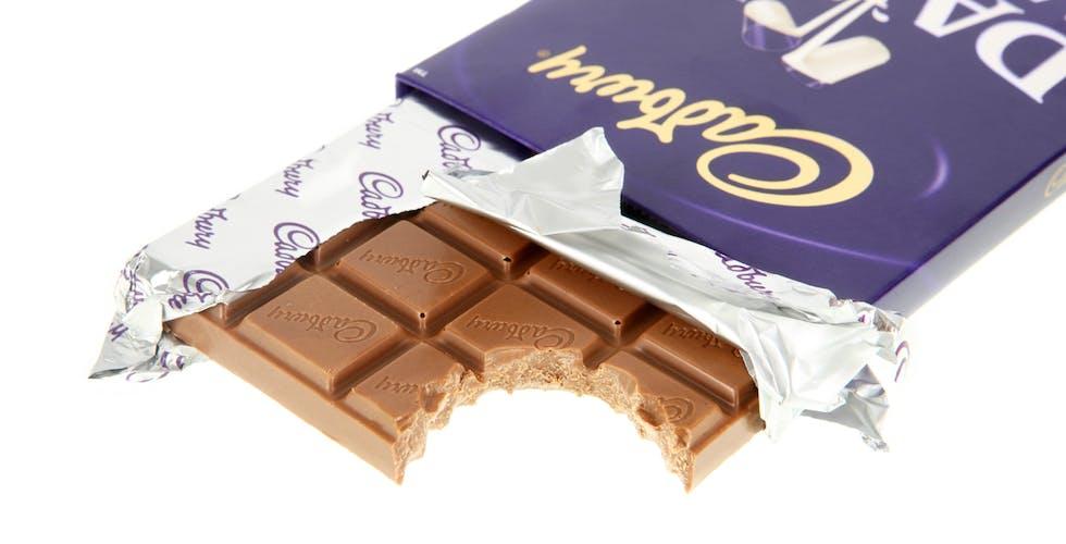 Cadbury breaker