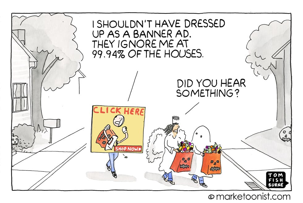 Banner ads Marketoonist
