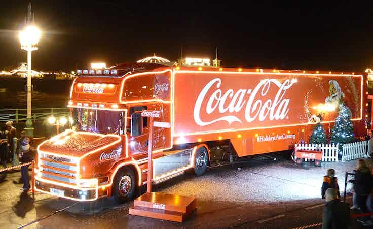 Coca-Cola van