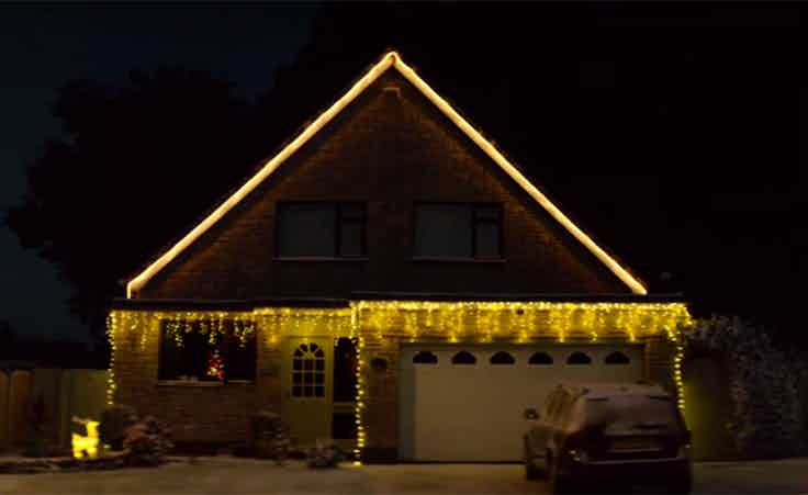 PayPal christmas house