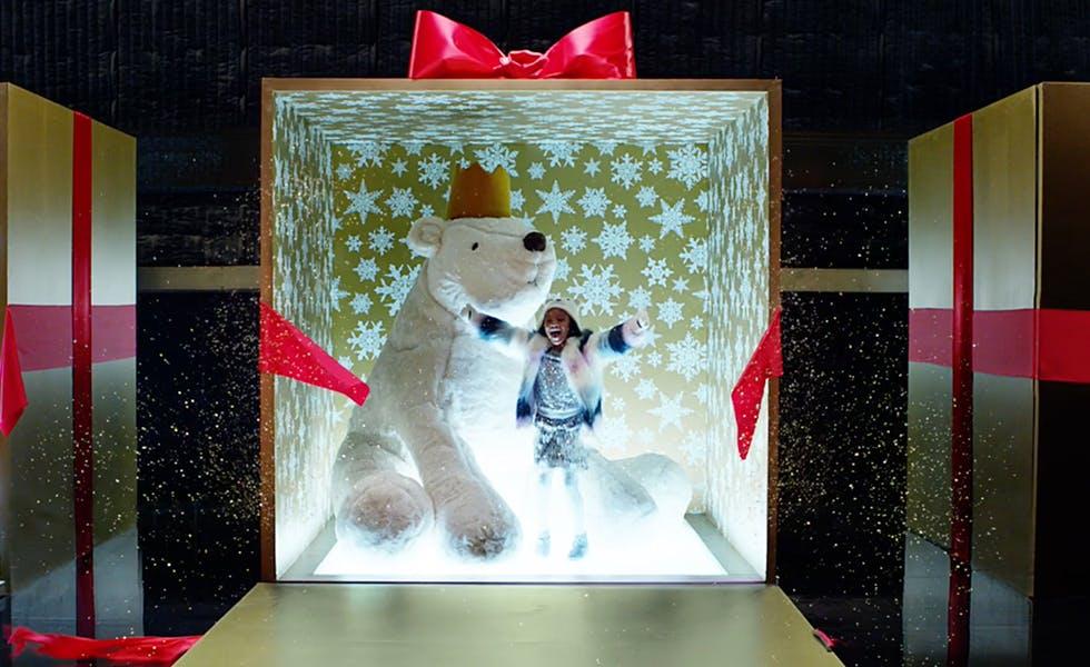 M and S Christmas ad