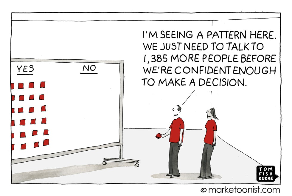 Making a decision Marketoonist 26 10 15