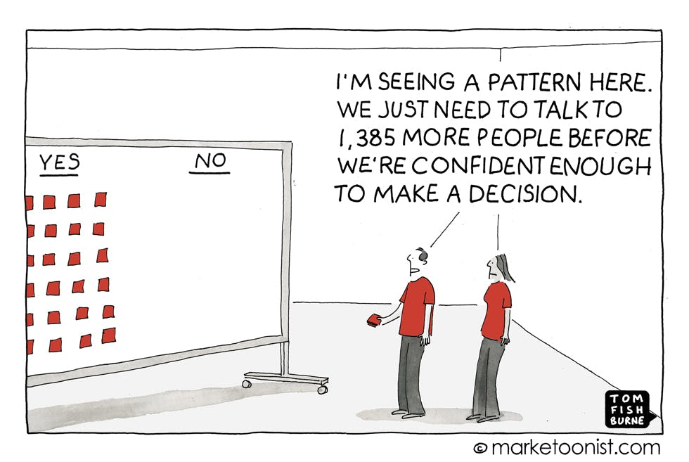 Making a decision Marketoonist 26 10 15