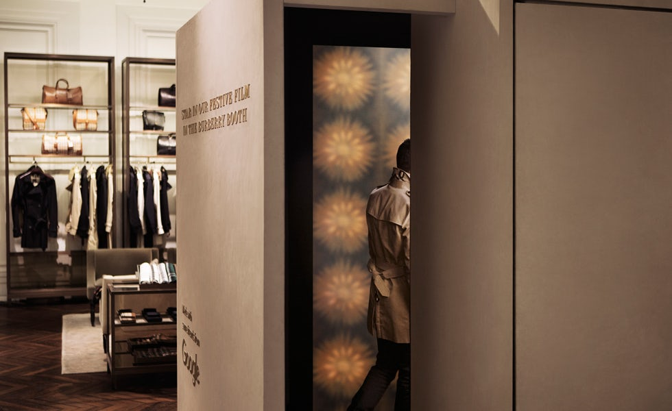burberry booth