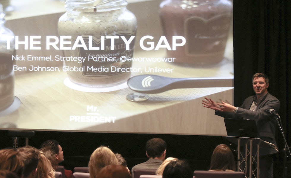 Nick Emmel of Mr President on bridging the reality gap
