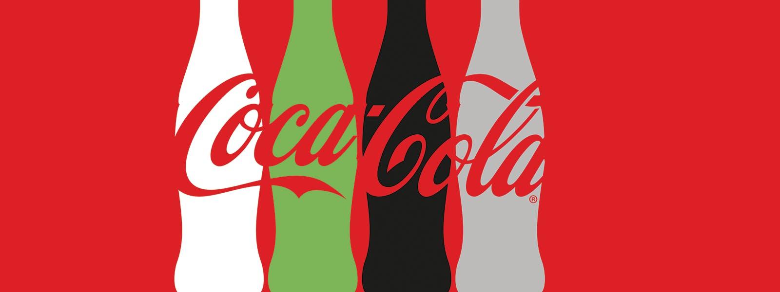 Coke one brand masthead one