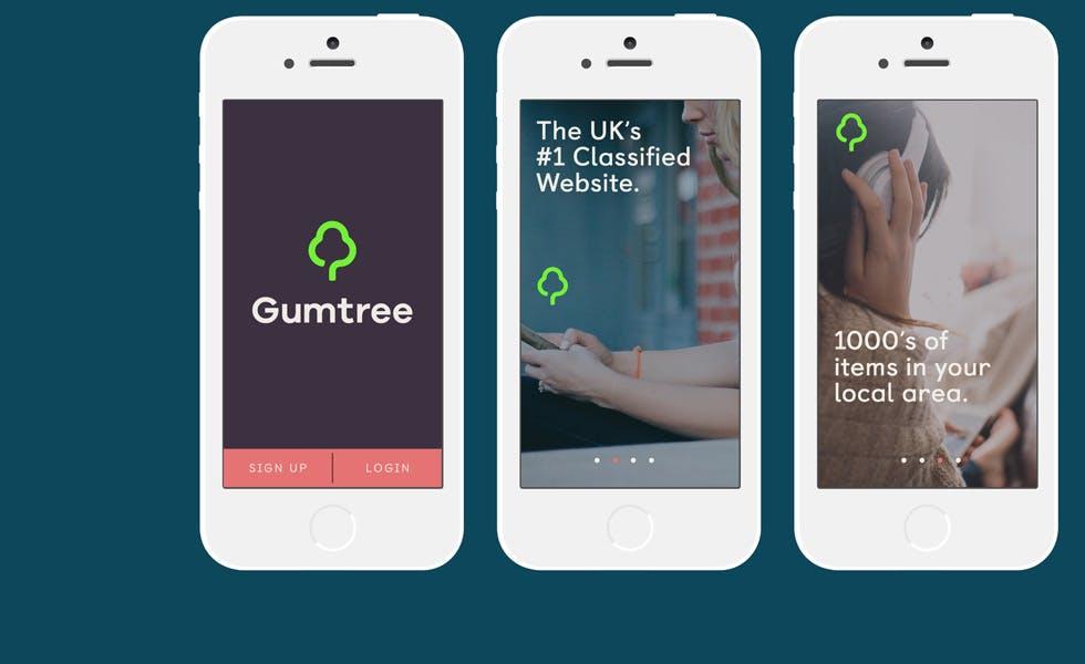 Gumtree mobile app
