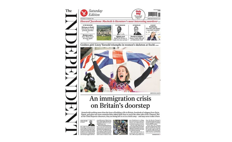 The Independent Claims Online Only Will Give Advertisers More Brand