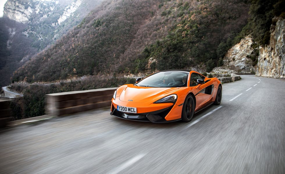 McLaren launches first ever TV ad as it seeks to change brand image